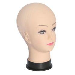 Голова женская с макияжем без парика
