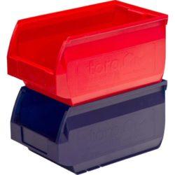 Ящик (лоток) пластиковый (цв. синий, красный)