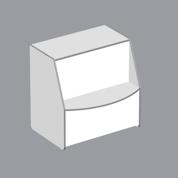 2.7. Прилавок A-1, глухой