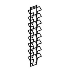1.1. Стойка-стеллаж для печатной продукции A-33