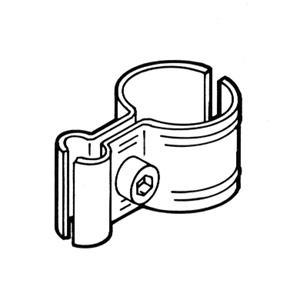 Крепление решетки к трубе FG-605, MS/13