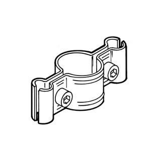 Крепление 2-х решеток к трубе FG-606, MS/14